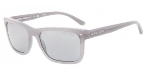 Giorgio Armani Ar 8028f Sunglasses 5175k3 Brushed Grey 55 18 140