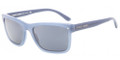 GIORGIO ARMANI AR 8028F Sunglasses 5176R5 Brushed Avio Blue 55-18-140