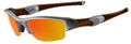 Oakley Flak Jacket 9008 Sunglasses 03-884 Silver