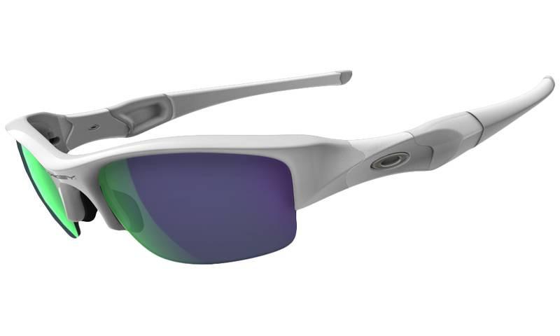 23e2532a29 Oakley Flak Jacket 9008 Sunglasses 26-221 Matte White - Elite ...