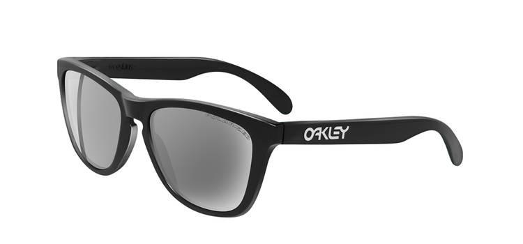 61d88beb7b Oakley Frogskins 9013 Sunglasses 03-223 Polished Black - Elite ...