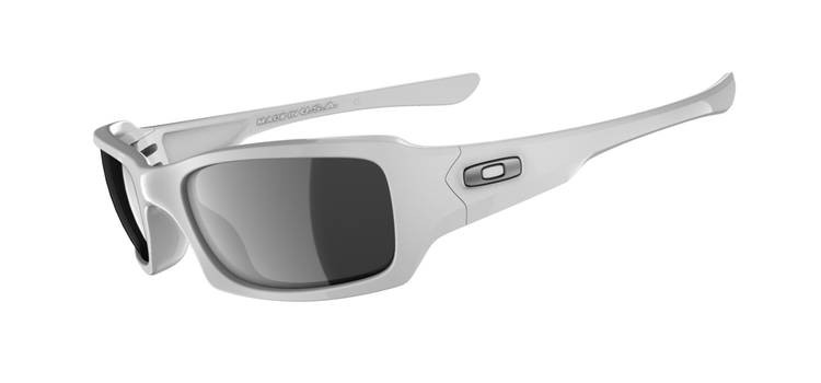 0479090bddc Oakley Fives Squared 9079 Sunglasses 03-443 Polished White. Image 1.  Loading zoom