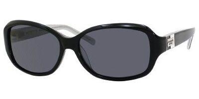cbd86d4920 Kate Spade Annika S Sunglasses JBHPRA Blk Slv Sparkle (5615). Image 1.  Loading zoom
