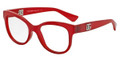 Dolce & Gabbana Eyeglasses DG 5010 2869 Matte Opal Red 52-17-140