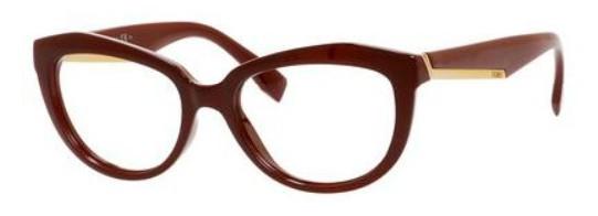 7598a954d5ed Fendi Eyeglasses 0020 0COI Opal Burgundy 52-17-140 - Elite Eyewear ...