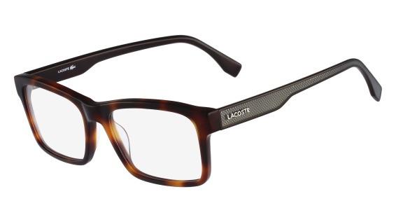 17717e285fc Lacoste Eyeglasses L2722 214 Havana 54-18-145 - Elite Eyewear Studio