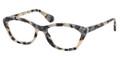 Prada Eyeglasses PR 03QV KAD1O1 White Havana 52-18-140