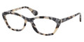 Prada Eyeglasses PR 03QV KAD1O1 White Havana 54-18-140