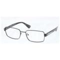 Prada Eyeglasses PR 60QV 7AX1O1 Black 56-18-140