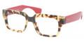 Prada Eyeglasses PR 12QV 7S01O1 Havana 51-18-140