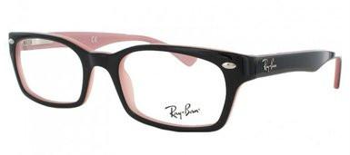 258af05fcb1 Ray Ban Eyeglasses RX 5150 5024 Black On Pink 50-19-135 - Elite ...