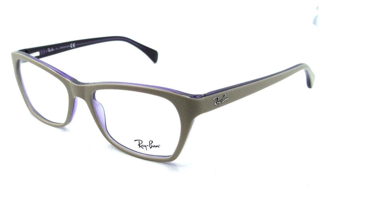 d23192d1cd Ray Ban Eyeglasses RX 5298 5387 Top Matte Beige On Transparent ...
