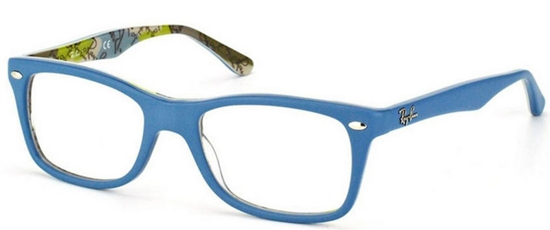 f9b1341945 Ray Ban Eyeglasses RX 5228 5407 Top Blue On Texture Camouflage 53-17-140.  Image 1. Loading zoom
