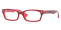Ray Ban Eyeglasses RY 1533 3592 Red On Opaline Red 47-16-130