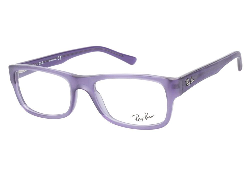 75d5d147233 Ray Ban Eyeglasses RB 5268 5122 Matte Violet 50-17-135 - Elite ...