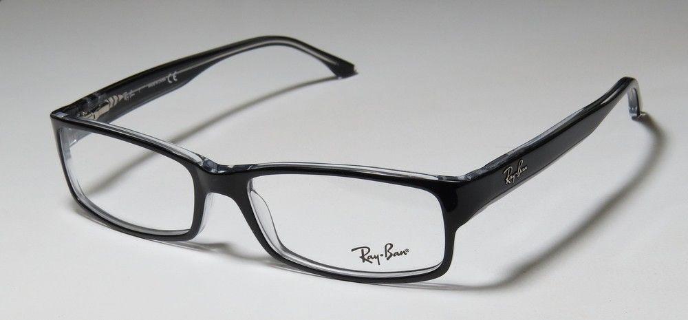 b05669474f6 Ray Ban Eyeglasses RB 5114 2034 Black Transparent 54-16-140. Image 1.  Loading zoom