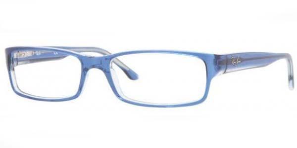 26e2f098fff07 Ray Ban Eyeglasses RB 5114 5111 Blue Transparent 52-16-135. Image 1.  Loading zoom
