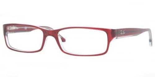b0f7a5b983e Ray Ban Eyeglasses RB 5114 5112 Red Transparent 54-16-140. Image 1. Loading  zoom