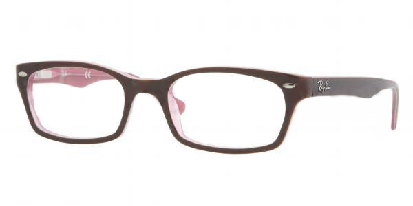 089129b8fa Ray Ban Eyeglasses RX 5150 2126 Brown Pink 50-19-135 - Elite Eyewear ...