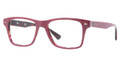 Ray Ban Eyeglasses RX 5308 5236 Red On Havana 53-18-145