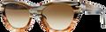 Persol PO2998 Sunglasses 940/51 Horn/Striped Br