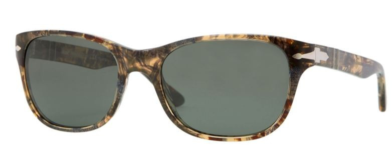 Po3020 Persol Blue Sunglasses Spotted 92958 Br w0nvmN8O