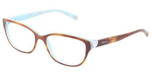 a4920adb69d Tiffany Eyeglasses TF 2087H 8164 Havana Blue 52-16-140 - Elite ...