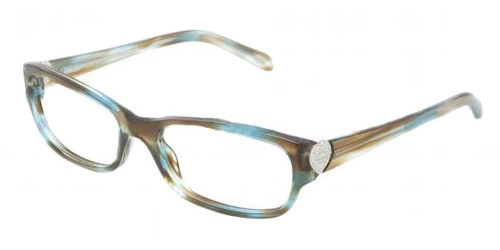 d6d0066f181a Tiffany Eyeglasses TF 2065B 8124 Ocean Turquoise 54-17-135. Image 1.  Loading zoom