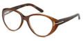 Tom Ford Eyeglasses FT5245 050 Brown 53-15-135