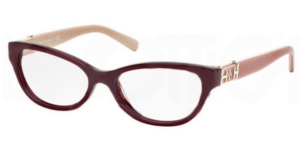 e934cf8a5143 Tory Burch Eyeglasses TY 2045 1336 Bordeaux Pink Blush 51-15-135. Image 1.  Loading zoom