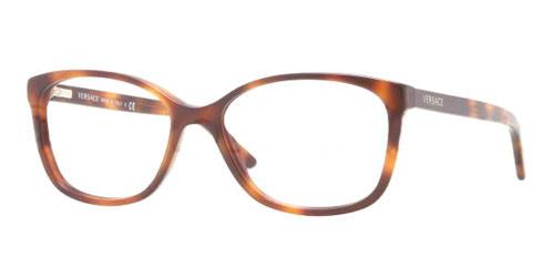 Versace 5061 Havana 16 Ve 53 3147m Eyeglasses Studio Eyewear Elite 135 wqp6rtw