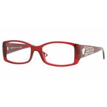 a62e0249ff793 Versace Eyeglasses VE 3139B 897 Transparent Red 53-16-135 - Elite ...