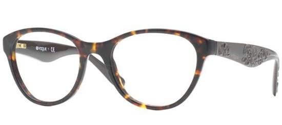 e624ac455f Vogue Eyeglasses VO 2884 W656 Havana 50-19-135 - Elite Eyewear Studio