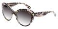 Dolce & Gabbana Sunglasses DG 4236 28428G Black Peach Flowers 56-19-140