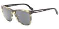 Giorgio Armani Sunglasses AR 8027 516887 Striped Grey 55-17-145