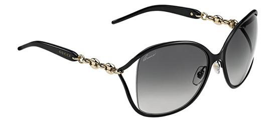 c5c62688598 Gucci Sunglasses 4250 S 0F0G Black 60-17-115 - Elite Eyewear Studio