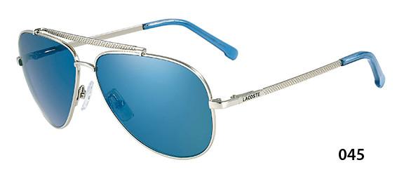 a5cdb554082 Lacoste Sunglasses L134S 045 Silver 58-12-135 - Elite Eyewear Studio