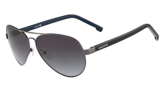 b749318e935b Lacoste Sunglasses L163S 035 Grey 62-13-140 - Elite Eyewear Studio