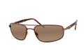 Maui Jim Sunglasses KAHUNA (H162-23) Metallic Gloss Copper 59-18-130
