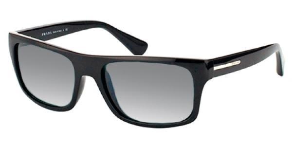 0e0d2877b32 Prada Sunglasses PR 18PS 1AB2D0 Black 59-18-140 - Elite Eyewear Studio