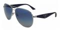 Prada Sunglasses PR 53QS 1BC8Z1 Silver 60-13-140