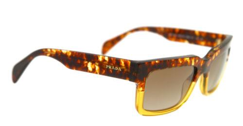 7b8de0afd3f8 Prada Sunglasses PR 11QS DG61X1 Spotted Brown On Yellow 48-20-140 ...
