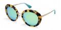 Prada Sunglasses PR 16QS PDN2F0 Spotted Havana Violet 55-21-135