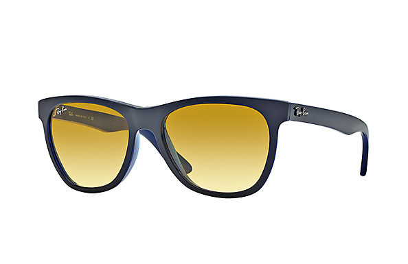 a15a5ff1df Ray Ban Sunglasses RB 4184 6115X4 Top Grey On Opal Blue 54-17-145 ...