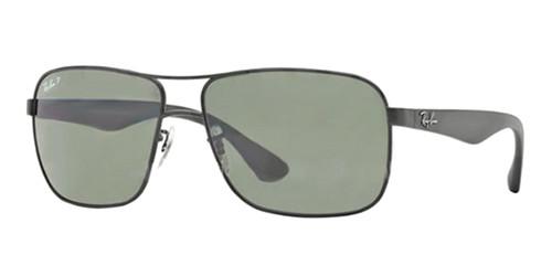 d8c562d007d Ray Ban Sunglasses RB 3516 006 9A Matte Black 59-15-140 - Elite ...