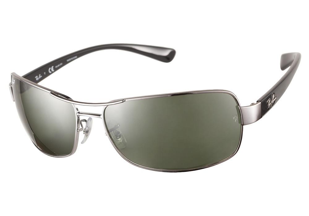 52b24a9ab50 Ray Ban Sunglasses RB 3379 004 Gunmetal 64-15-130 - Elite Eyewear Studio