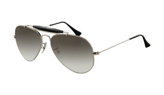 c5a791f4618 Ray Ban Sunglasses RB 3407 003 32 Silver 58-14-135 - Elite Eyewear ...