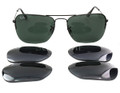 Ray Ban Sunglasses RB 3461 002/71 Black 56mm