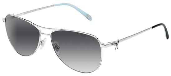 86c420839293 Tiffany Sunglasses TF 3044 60473C Silver 58-14-140. Image 1. Loading zoom