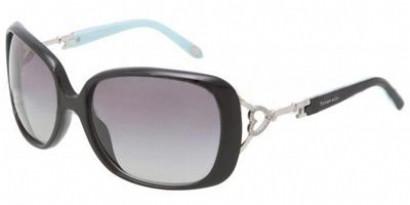 d5770898f5 Tiffany Sunglasses TF 4055B 80014L Black Blue 61-17-125 - Elite ...